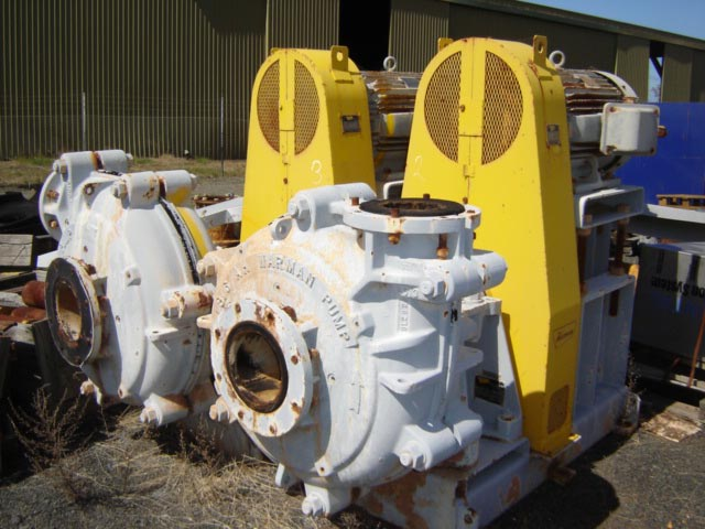 Warman 8/6 Pumps    PE10
